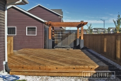 Edmonton Decks Custom deck and pergola