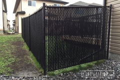 Edmonton Fence Chain link fence privacy slats