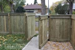 Edmonton Fence gate 2