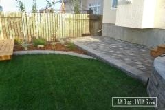 Edmonton Landscaping Paving stone pad
