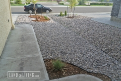 Edmonton Landscaping Simple hardscape