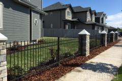 Edmonton landscape design Bark mulch