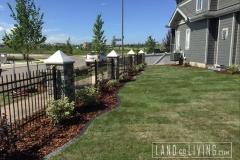 Edmonton landscape idea design Tbar sod