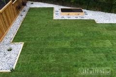 Edmonton landscaping Tbar sod installed