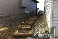 Edmonton landscaping stairs