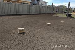 Landco Living Edmonton landscape Final grade