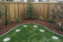 Landco Living Edmonton landscape design back yard