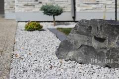 Landco Living Edmonton landscape design boulder