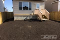 Landco Living Edmonton landscape design final grade 2