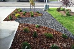 Landco Living Edmonton landscape design hardscape front yard