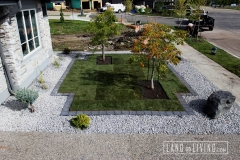 Landco Living Edmonton landscape design limestone