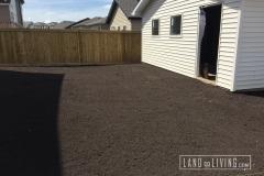 Landco Living Edmonton landscape finalgrade 1