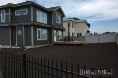 Landco Living Edmonton landscaping finalgrade 1