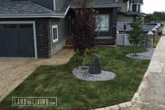 Landco Living Edmonton landscaping front design