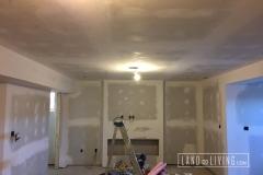 Basement drywall, tape and mudding 2
