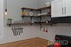 Edmonton Home Renovaton kitchen Shelving