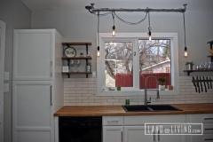Edmonton Home Renovaton modern kitchen hanging lights