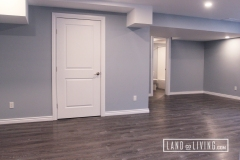 Edmonton-basement-renovation-vinyl-click-flooring